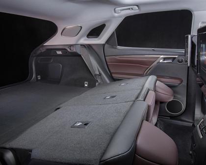 2016 Lexus RX 450h 4dr SUV Interior
