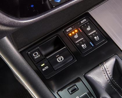 2016 Lexus RX 450h F Sport 4dr SUV Interior Detail