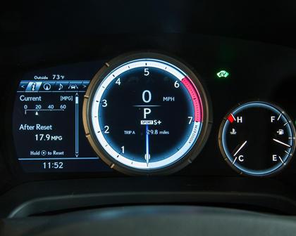 2016 Lexus RX 450h F Sport 4dr SUV Gauge Cluster