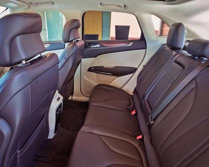 2018 Lincoln MKC Select 4dr SUV Rear Interior