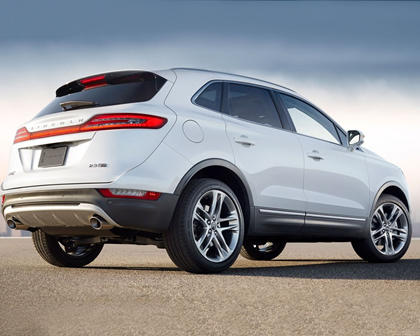 2018 Lincoln MKC Select 4dr SUV Exterior. Options Shown.