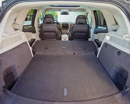 2018 Lincoln MKC Select 4dr SUV Rear Seats Down