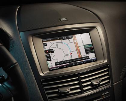 2018 Lincoln MKT Reserve Wagon Navigation System