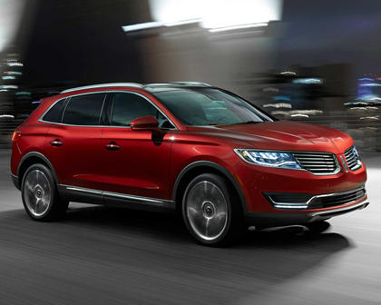 2017 Lincoln MKX Reserve 4dr SUV Exterior Shown