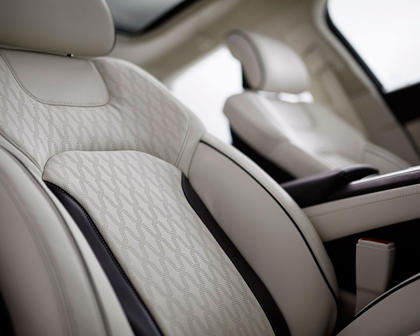 2018 Lincoln MKZ Black Label Sedan Interior Detail