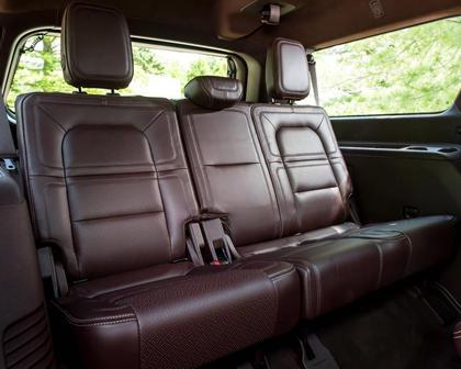 2018 Lincoln Navigator L Black Label 4dr SUV Rear Interior