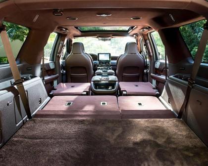 2018 Lincoln Navigator L Black Label 4dr SUV Rear Seats Down