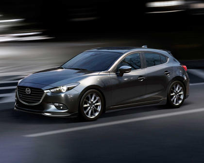 2018 Mazda 3 Grand Touring 4dr Hatchback Exterior