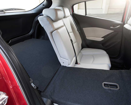 2018 Mazda 3 Grand Touring 4dr Hatchback Rear Seats Down