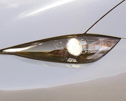 2017 Mazda MX-5 Miata Club Convertible Headlamp Detail