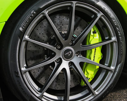 2016 McLaren 675LT Coupe Wheel