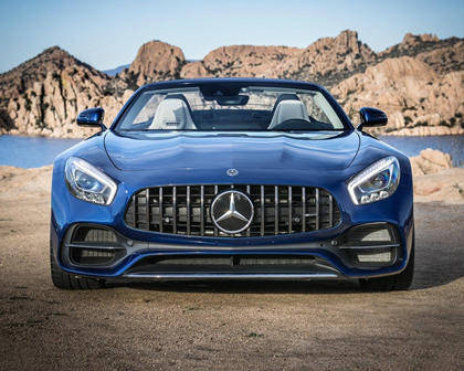 2018 Mercedes-Benz AMG GT Convertible Exterior