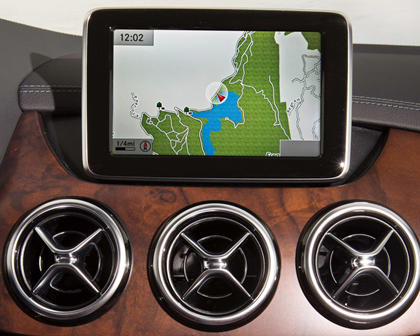 2017 Mercedes-Benz B-Class Electric Drive B250e 4dr Hatchback Navigation System