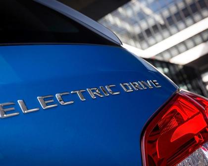 2017 Mercedes-Benz B-Class Electric Drive B250e 4dr Hatchback Rear Badge