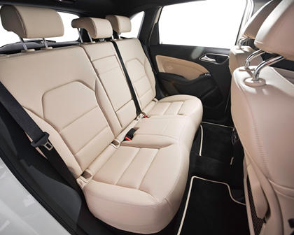 2017 Mercedes-Benz B-Class Electric Drive B250e 4dr Hatchback Rear Interior