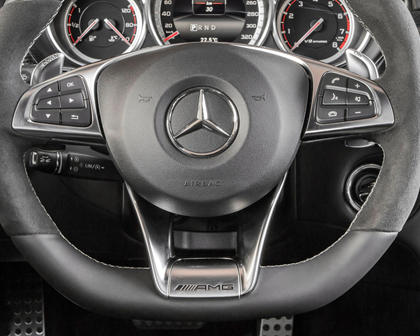 2017 Mercedes-Benz CLS-Class AMG CLS 63 S 4MATIC Sedan Steering Wheel Detail