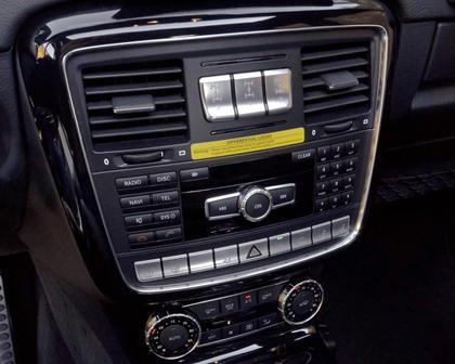 2017 Mercedes-Benz G-Class AMG G 63 4dr SUV Center Console