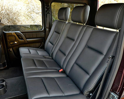 2017 Mercedes-Benz G-Class AMG G 63 4dr SUV Rear Interior