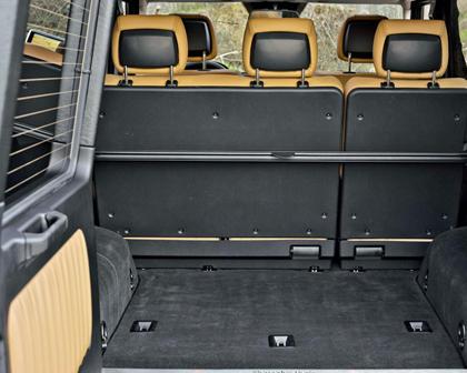 2017 Mercedes-Benz G-Class G 550 4dr SUV Cargo Area