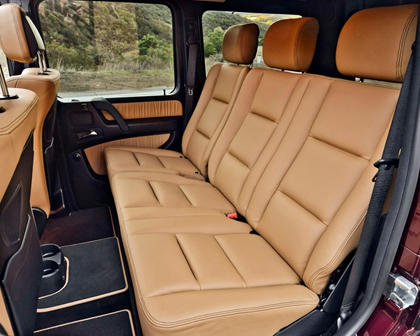 2017 Mercedes-Benz G-Class G 550 4dr SUV Rear Interior
