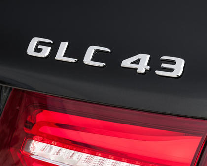 2018 Mercedes-Benz GLC-Class AMG GLC 43 4dr SUV Rear Badge