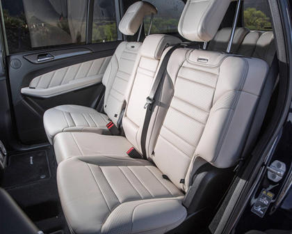 2017 Mercedes-Benz GLS-Class GLS 63 4dr SUV Rear Interior