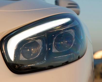Mercedes-Benz SL-Class SL 450 Convertible Headlamp Detail
