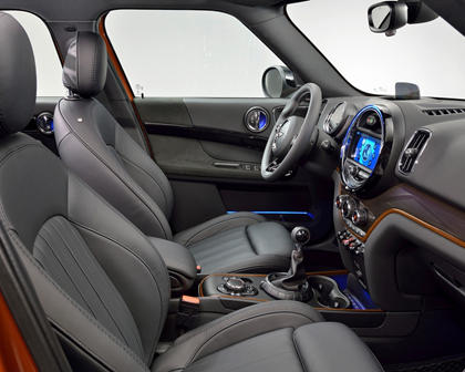 2018 MINI Countryman Cooper S ALL4 Wagon Interior