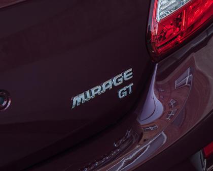 2018 Mitsubishi Mirage GT 4dr Hatchback Rear Badge