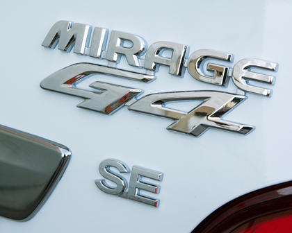 2018 Mitsubishi Mirage G4 SE Sedan Rear Badge