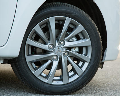 2018 Mitsubishi Mirage G4 SE Sedan Wheel