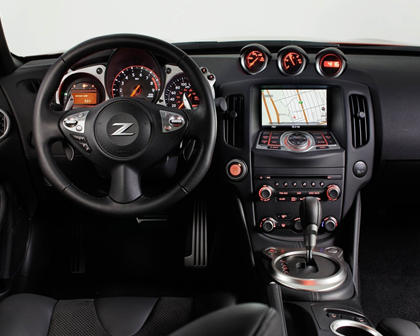 2018 Nissan 370Z Sport Tech Coupe Dashboard