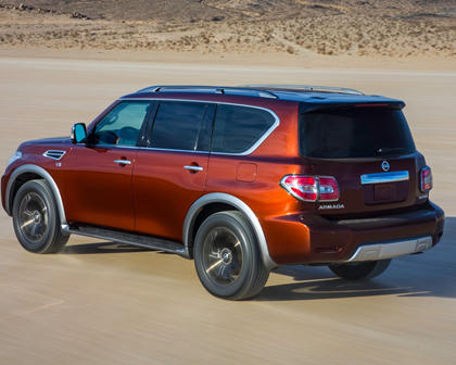 2017 Nissan Armada Platinum 4dr SUV Exterior