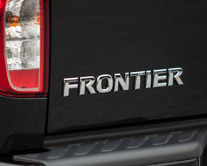 2017 Nissan Frontier PRO-4X Crew Cab Pickup Rear Badge