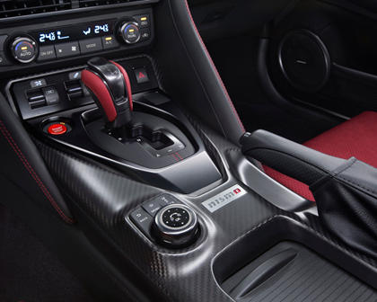 2017 Nissan GT-R NISMO Coupe Shifter