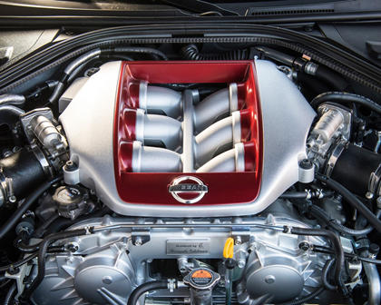 2017 Nissan GT-R Premium Coupe 3.8L V6 Turbo Engine