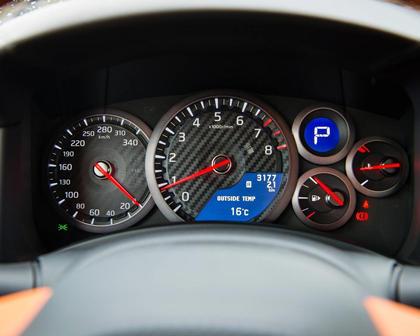 2017 Nissan GT-R Premium Coupe Gauge Cluster