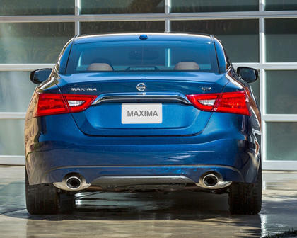 2017 Nissan Maxima 3.5 SR Sedan Exterior