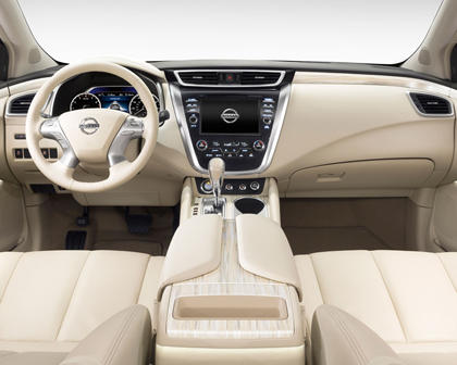 2017 Nissan Murano Platinum 4dr SUV Dashboard Shown