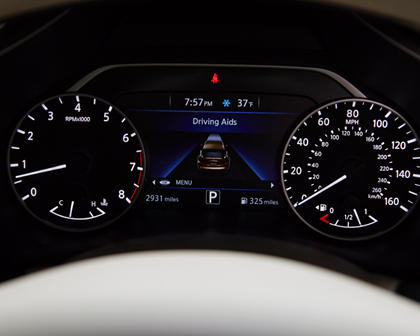 2017 Nissan Murano Platinum 4dr SUV Gauge Cluster