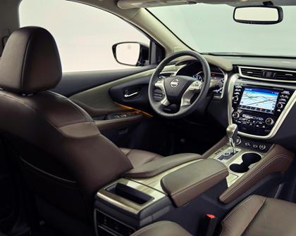 2017 Nissan Murano Platinum 4dr SUV Interior