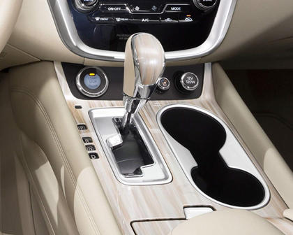 2017 Nissan Murano Platinum 4dr SUV Shifter