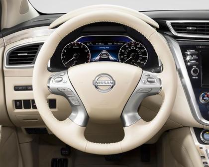 2017 Nissan Murano Platinum 4dr SUV Steering Wheel Detail