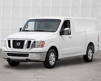 2017 Nissan NV Cargo 3500 SV Cargo Van Exterior Shown