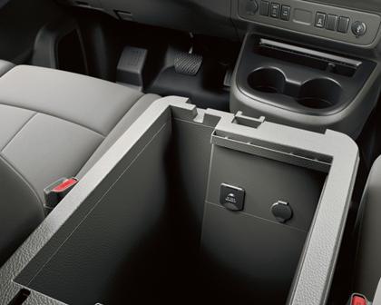 2017 Nissan NV Passenger 3500 SL Passenger Van Interior Detail