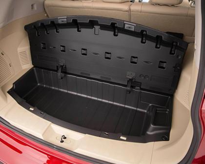 2017 Nissan Rogue SL 4dr SUV Cargo Area