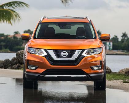 2017 Nissan Rogue SL 4dr SUV Exterior