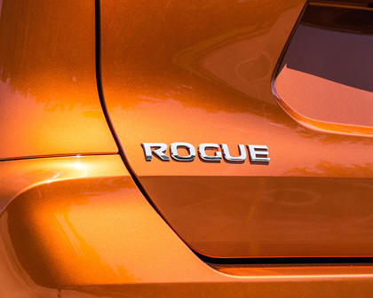 2017 Nissan Rogue SL 4dr SUV Rear Badge