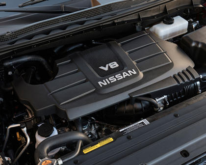 2017 Nissan Titan SV Regular Cab Pickup 5.6L V8 Engine