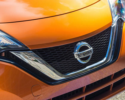 2017 Nissan Versa Note 1.6 SL 4dr Hatchback Front Badge